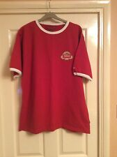 Men's 2006 Stella Artois Championship short sleeve Jack Wills red t-shirt Large