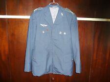 Idf Zahal Air Force IAF Class A Gala Jacket MATZKIN Para Wings Ranks Pins Israel