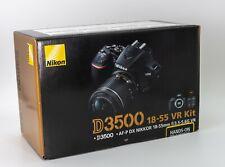 [DHL] Nikon D3500 24.2MP with 18-55mm f/3.5-5.6G VR Lens Kit DSLR Camera - NEW