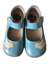 LN Girls Shoes Livie & Luca Pio Pio Parent Leather Blue 11