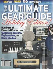 Guitar Bass Keyboard Player Magazine Ultimate Gear Guide Holiday Edition 2008