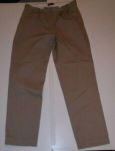 Men's Polo Ralph Lauren Chatfield Pant Beige Chinos 35 Waist 34 Leg #1487
