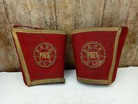 Vintage Masonic Royal Antediluvian Order of Buffaloes President Gauntlets