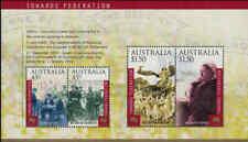 2000 AUSTRALIA Towards Federation M/S MNH