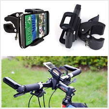 Portable 360° Rotating Motorcycles ATV Handlebar Mount Phone GPS Holder Bracket