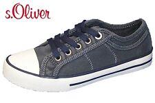 41 37 Gr s.Oliver Damen Canvas Slipper Sneaker Damenschuhe Soft Foam Grau