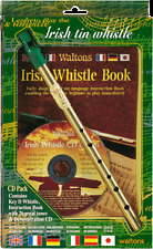 WALTONS IRISH TIN WHISTLE PACK Book CD & Whistle*