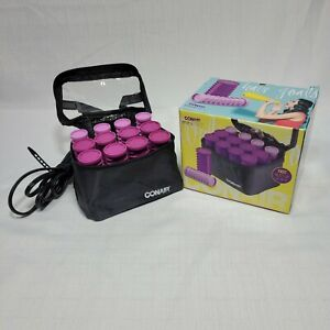 Conair MiniPro Compact Rollers Travel Hair Curlers With Pins Curls On The Go