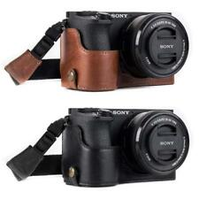 """MegaGear """"Ever Ready"""" Genuine Leather Camera Case for Sony Alpha A6500"""