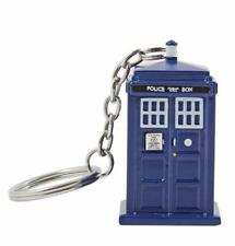 Doctor Who 3D Moulded Tardis Keychain NEW Keyring Toys Collectibles Police Box
