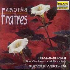 Fiamminghi Werthen - Arvo Pärt: Fratres (NEW CD)