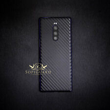 SopiGuard 3M Avery Carbon Fiber Sticker Skin Back Only for Sony Xperia 1