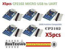 5pcs CJMCU CP2102 MICRO USB to UART TTL Module 6Pin Serial Converter