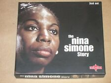 BOX 3 CD / THE NINA SIMONE STORY / TRES BON ETAT