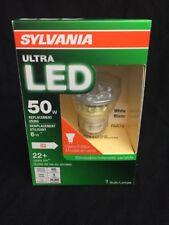 Sylvania LED Spot Bulb 50W Dimmable Par16 GU10 Base Glass Edition White