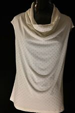 WOMENS S PEARL IVORY TOP BY GRACE, BRAND NEW!