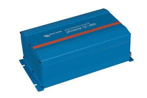 Victron Phoenix 12V 800VA 230V Sinewave Inverter Schuko to UK 3 Pin