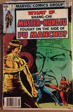 1979 WHAT IF #16 SHANG CHI MASTER OF KUNG FU FOUGHT WITH FU MANCHU? Poor Quality