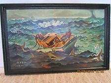 Maritime Decor, Signed Original1978 Painting