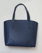borsa da donna in vera pelle made in italy nuova  bag leather blu  palmellata 1