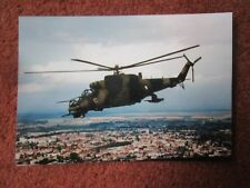 PHOTO HELICOPTERE MIL MI-24D 4010 CZECH AIR FORCE CSAF HELICOPTER HUBSCHRAUBER