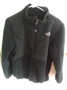 The North Face Fleece Jacket Girl's Size XL 18 - Black