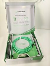 """CrossRope Fitness Get Lean Set 1/4 LB 1/2 LB Smart Jump Ropes Size Small 8"""""""