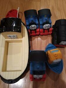 Thomas Train Jumbo Bulstrode Pull String Floating Tug Boat Toy  2009 Mattel plus