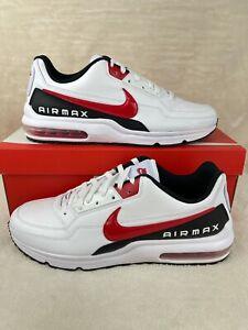 Nike Air Max LTD 3 (Mens Size 13) Shoes BV1171 100 White University Red Black