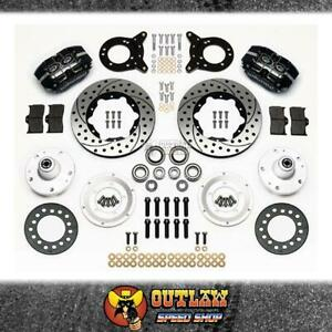 """WILWOOD DUSTBOOT FRONT DISC BRAKE KIT FITS FORD FITS 63-69 FALCON 11"""""""