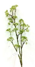 """Seed Berry Branch Stem~Green Tone~PVC/Artificial. 29"""" Tall"""