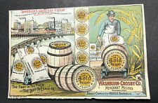Washburn Crosby Gold Medal Flour Recipe Graphic Factory Sack Barrels