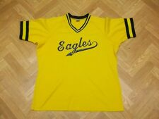 "Vintage Lady CHAMPION Eagles 23 T Shirt Stretchy Jersey Sport 90s XL (23"" PTP)"