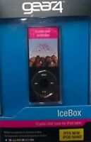 New GEAR4 Crystal-clear Case Icebox for iPod Nano 4th Gen Lanyard included