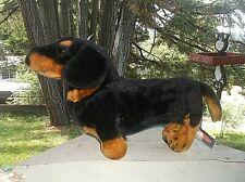 "DACHSHUND Weiner Dog Plush Stuffed Animal Melissa and Doug  20"""
