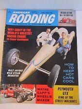 (9) 1960'S CAR MAGAZINES - AMERICAN RODDING, SPEED & SUPERCAR, HI PER CARS & MOR