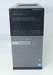 Dell OptiPlex 7010 MT Intel i5-3570 3.4GHz 4GB 500GB HDD WIN7COA Fair No OS