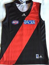 AFL Adidas Essendon Bombers Onfield Guernsey size 10/12 Clearance SALE