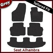 SEAT Alhambra tapetes Tailored ajustada Alfombra Coche Gris (2011, 2012...)