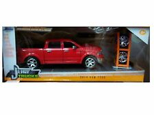 Dodge Ram 1500 Pickup 2014 Diecast 1:24 Just Trucks Jada 8 inch Red Custom Kit