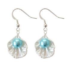 New Women Fashion Pearl Shell Earrimng Drop Hook Dangle Earrings Jewelry Gifts