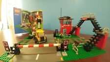 Lego 2003 Train Level Crossing # 10128 World City Town 9v Track Trains