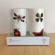 JOHN DERIAN insect tumbler set TARGET XXO set of 4 cups NEW