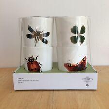 JOHN DERIAN insect tumbler set TARGET XXO set of 4 cups NEW