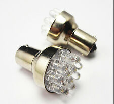 Fad Applied HOT BAY15D High Power Red 12 LED Car Brake Stop Tail Light Bulb FT