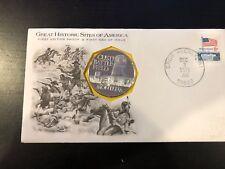 New listing 1971 Cluster Battlefield Silver Montana Franklin Mint 1oz Silver w/ Stamp