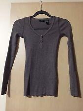 NEW Victorias Secret Mods International Brown Long Sleeve Sweater Extra Small