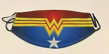 Wonder Woman logo Comic Superhero Adult Size Face Mask Reusable Face Covering
