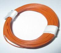 (1m = 17,9 CT) Fil de Décodeur 0,04 MM ² Très Souple 10m Anneau Orange > Nouveau