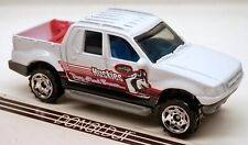 Matchbox 2001-05 Ford Explorer Sport Trac Truck Huskies Sled Team w/Bed Extender